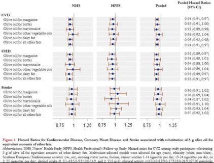 (メモ)オリーブオイル消費と心疾患の相関
